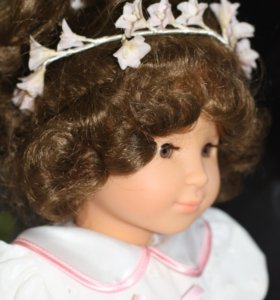Немецкая кукла с веночком от Gotz (Готц), 45 см
