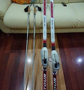 Комплект беговых лыж женский