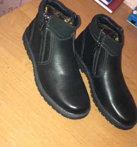 Новые ботинки зимние Francesco