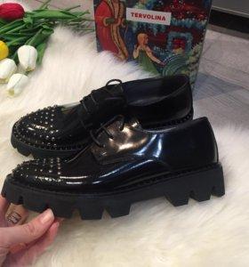 Ботинки tervalina новые