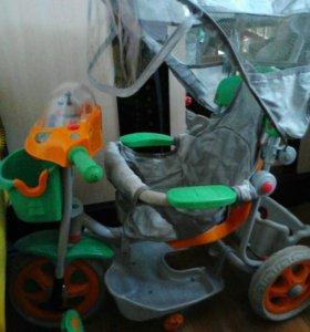 Детский велосипед - управляшка