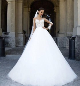 Свадебное платье от известного бренда MillaNova