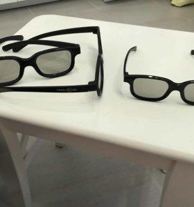 Очки real 3D