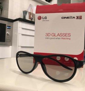 Новые 3D Очки LG Cinema