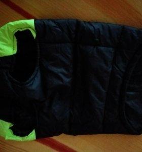 Куртка новая для собаки