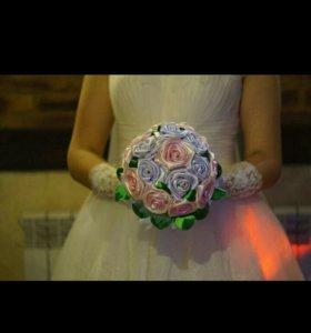 Свадебный букет дублер.