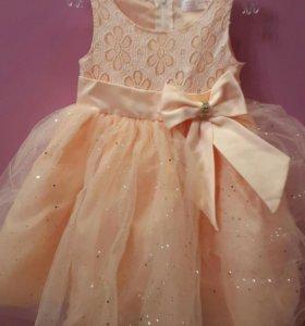 Платье нарядное 92 размер