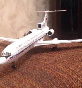 Модель самолёта ручная работа