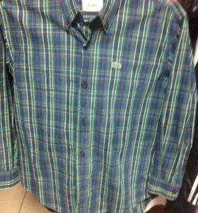 Рубашка в отл сост Lacoste на 9-10 лет