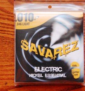 Струны для электрогитары Savarez S50L