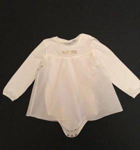 Платье - песочник , цвет белый MEXX