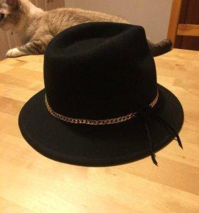 Шляпа шерстяная Massimo Dutti