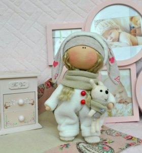 "Интерьерная кукла ""зайка"""