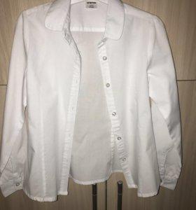 Рубашка для девочки новая o'stin 122см