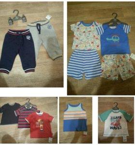 Новая одежда Mothercare на мальчика