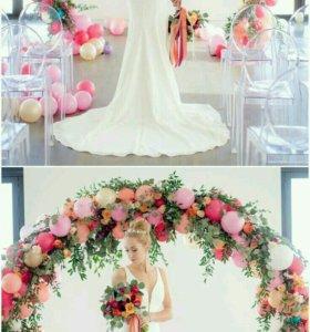 Оформление свадеб,флорист,декор