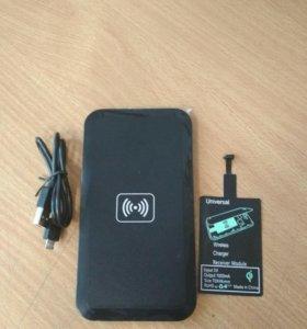 Песпроводная зарядка для usb micro