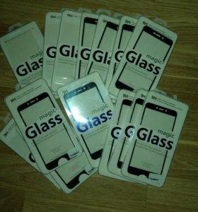 Защитные стёкла Xiaomi 3D 2D
