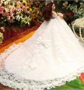 Шикарная кукла невеста