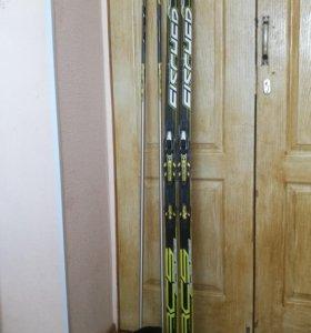 Комплект беговых лыж Fischer