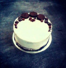 Торт Орео с начинкой чизкейк!!! 1,8кг