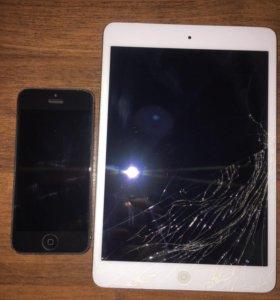 iPhone 5 и IPad mini WiFi +3G