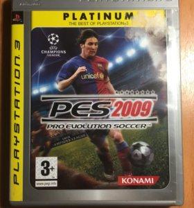 Pes 2009 на PS3 (Platinum)
