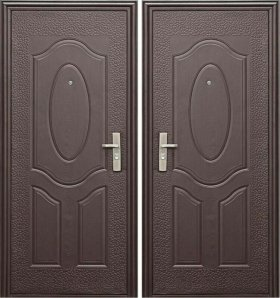 Двери входные металлические