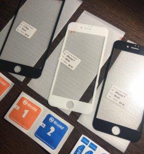 Защитные 3д стекла айфон