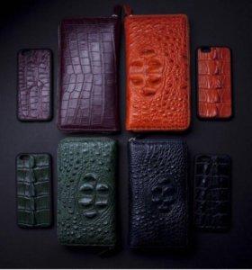 Чехол для Iphone из натуральной кожи питона
