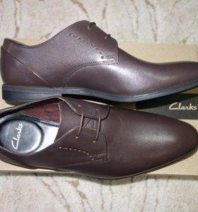 Clarks новые туфли