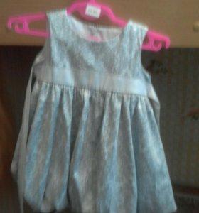 Платье для девочки. Рост 86