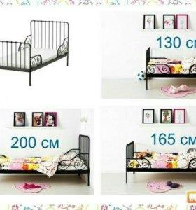 Кровать детская кованая