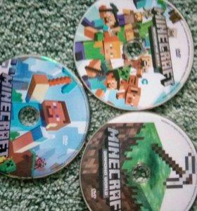 3 диска Minecraft