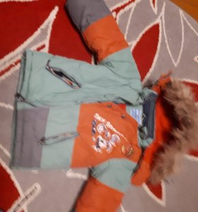 Зима -осень-весна  костюм на мальчика  с3х лет