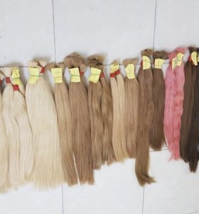 Натуральные славянские и южно-русские волосы