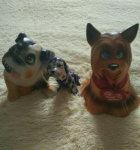 Капилки в виде собаки.