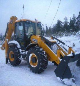 Услуги спецтехники Вывоз и уборка снега