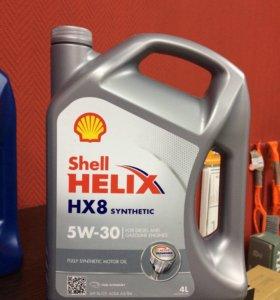Shell helix hx8 5w30 4литра
