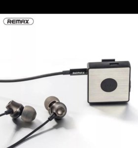 гарнитура bluetooth стерео Remax RB-S3 Clip-on