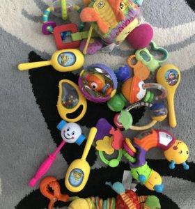 Игрушки-погремушки