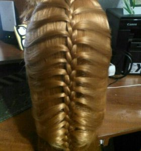 Причёски с плетением французская коса класика