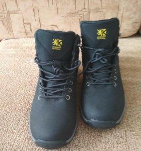 Ботинки-кроссовки мужские зимние