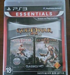 Игра на PS3 GOD OF WAR