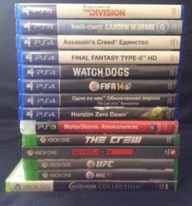 Прокат игр PS3/4 XBOX360/ONE