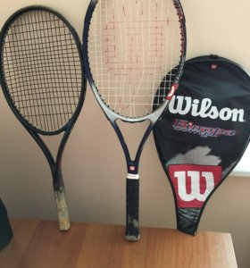 Теннисная ракетка и сумка-чехол