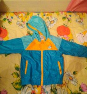 Куртка ветровка adidas (адидас) оригинал