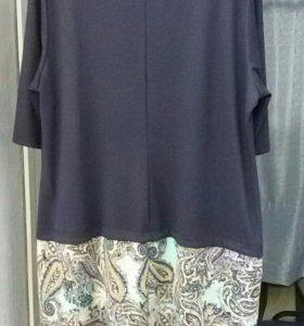 Платье трикотажное 60 р