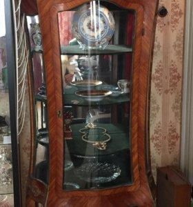 Антикварная витрина для коллекции!!!