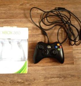 Геймпад Microsoft XBOX 360 на пк usb